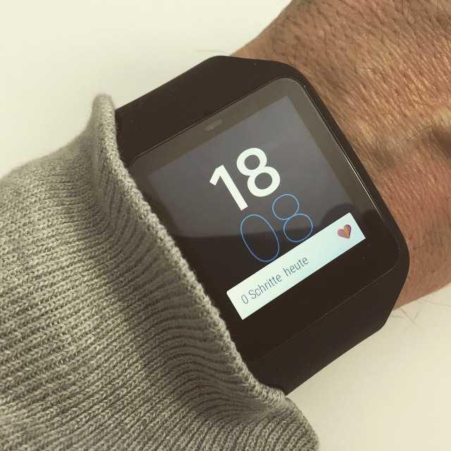 Smartwatches und Wearables
