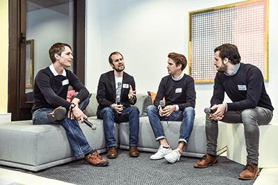 Diskussion beim code_n Geburtstag